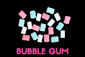 bubble gum frozen yogurt powder mix