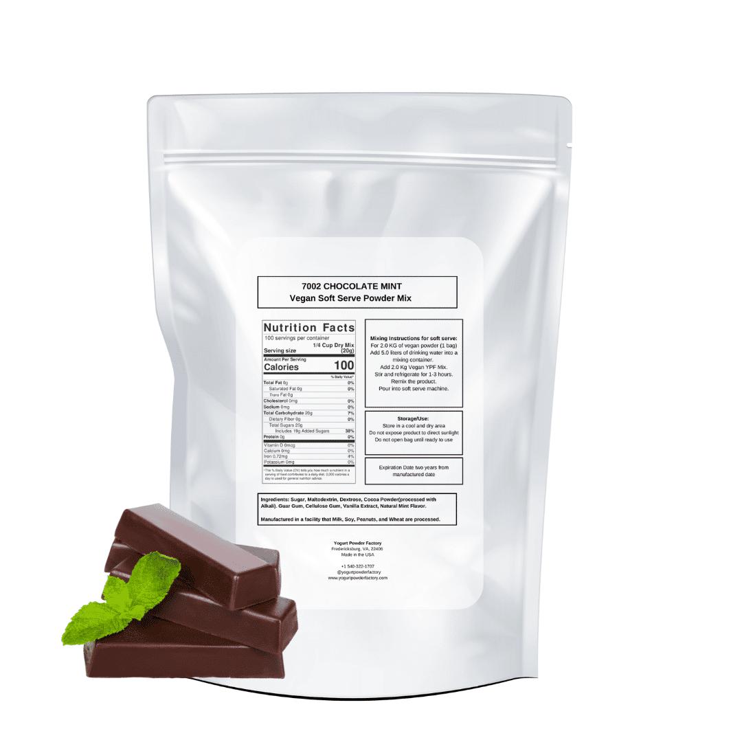 back vegan chocolate mint