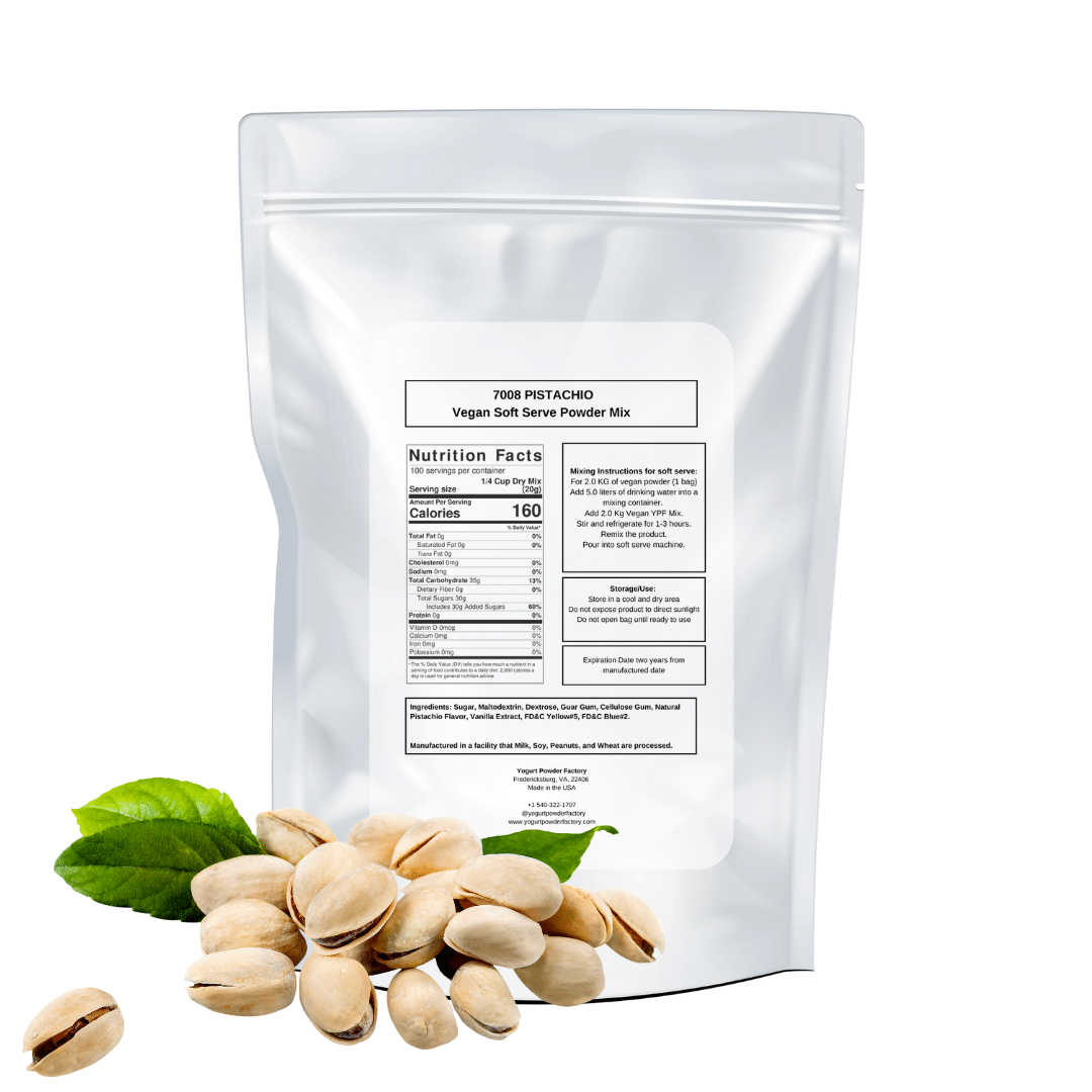 back of vegan pistachio bag