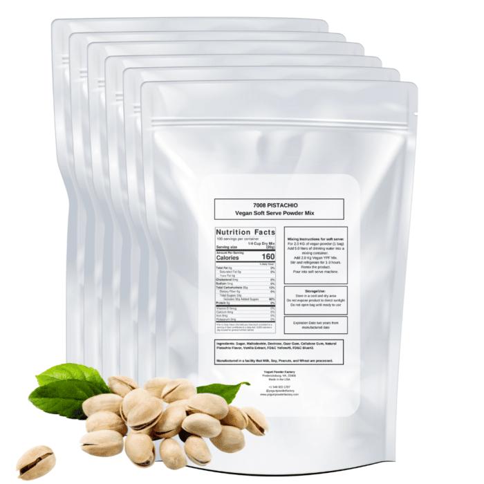 back label vegan pistachio