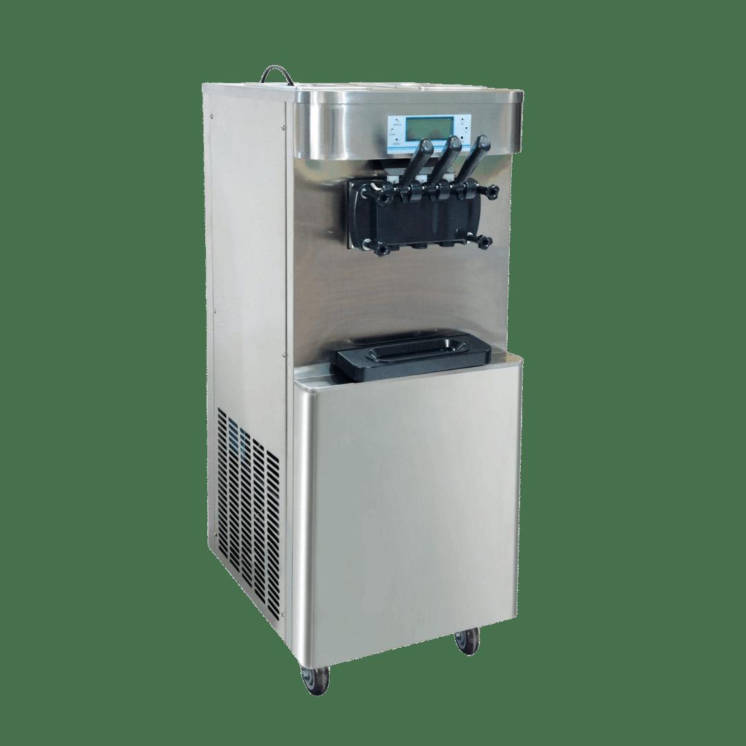 frozen yogurt machine front